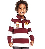 Pure Cotton Bold Striped Rugby Top