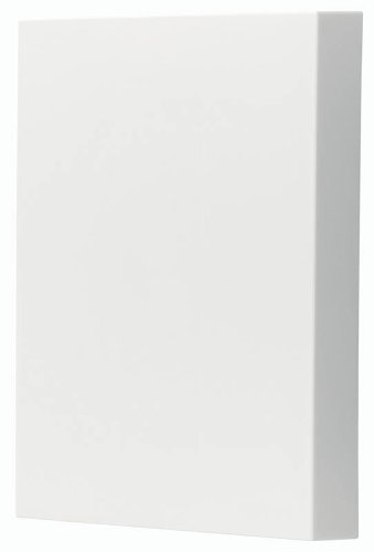 NuTone LA39WH Decorative Paintable Wired Two-Note Door Chime, White by Broan (Nutone Door Chime La39wh compare prices)