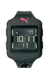 Puma Slide Chrono Digital Black Dial Women's watch #PU910792004