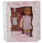 MISS COROLLE DOLLS by Parfums Corolle SET-ROSE EDT SPRAY 2 OZ & DOLL for WOMEN