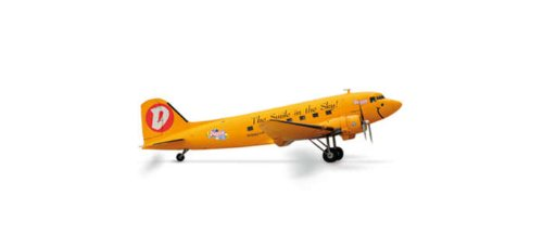 Herpa Wings Duggy DC-3 The Smile Model Airplane