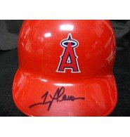 Signed Glaus, Troy (Anaheim Angels) Anaheim Angels Full Size Helmet autographed by Powers+Collectibles