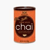 David Rio Tiger Spice Chai Tea Mix - 14 oz. Canister-CASE OF 6 CANS by David Rio