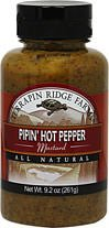 Terrapin Ridge Farms Pipin Hot Mustard-9.2 oz-Other