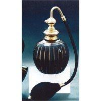 フランス製ブラッククリスタル香水瓶 キンセン 103587