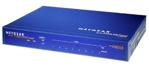 Netgear Prosafe Firewall-Router FVS318GE, 8 Port DSL/Kabel/VPN/8 Port Switch