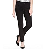 Petite 5 Pocket Denim Jeggings