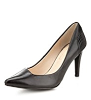 Autograph Leather Asymmetric Court Shoes with Insolia®