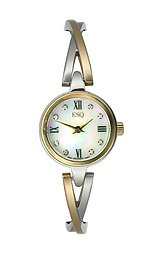 ESQ Sienna Diamond Bangle Mother-of-Pearl Dial Women's Watch #07101320