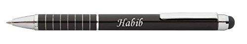 personalisierte-stift-und-touchscreen-stift-mit-aufschrift-habib-vorname-zuname-spitzname
