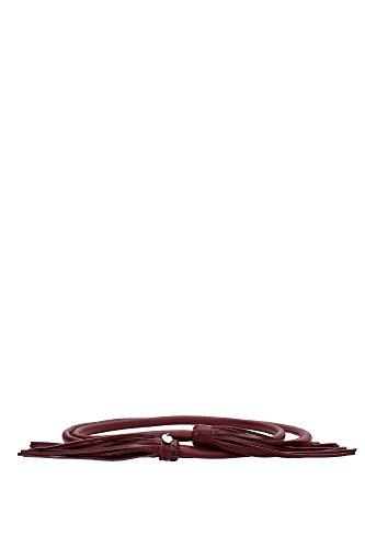 Cinture Pinko Donna Pelle Bordeaux 1N204GZ110R35 Rosso M