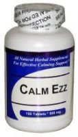 Get Well Natural Calm Ezzz (150 Tablets) - 2 Bottles Concentrated Herbal Blend - Dietary Supplement