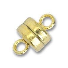 Gold plated Magnetverschluß 9x6mm x1