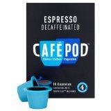 Cafe Pod Nespresso Compatible Decaffeinated (Pack of 4, Total 40 Pods)
