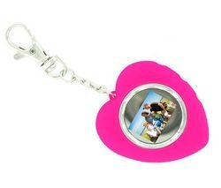 "B4U Love Emotion 1.1"" Digital Frame / Key Chain (pink - 75 photos)"