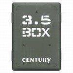 センチュリー 裸族の弁当箱(ブラック) CRB35-BK