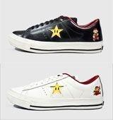 [converse] コンバース ONE STAR SUPER MARIO BROS. OX スニーカー26.5cm BLACK(ブラック)