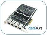 Intel EXPI9404PT PRO/1000 PT 4-PORT LP NIC NETWORK ADAPTER RJ45