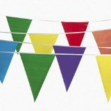300 Foot Multicolor Pennant Banner