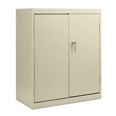 ** Economy Assembled Storage Cabinet, 36w x 18d x 42h, Putty