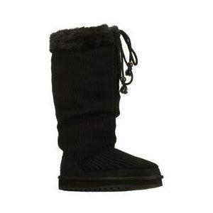 Skechers Keepsakes Hyped Up Womens Sweater Boots Black 11