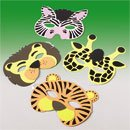 12 Wild Animal Zoo Masks