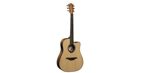 Lag T66Dce Standard Range Dreadnought Cutaway Acoustic-Electric Guitar