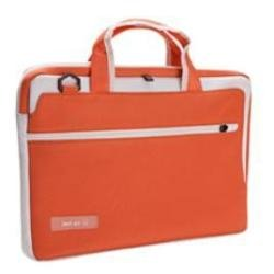 Techair TAZHA005 Asymmetric Sleeve for 15.6 inch Laptop/Netbook - Orange/White from Tech Air