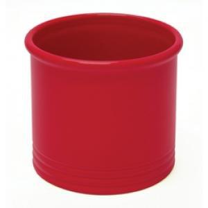large redkitchen utensil holder