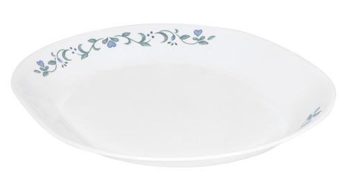 Corelle Livingware 12-1/4-Inch Serving Platter, Country Cottage (Corelle Oval Serving Plate compare prices)