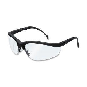 mcr-sicherheit-kd110-klondike-schutzbrille-mit-rahmen-in-matt-schwarz-und-linse-klar-12-pair-von-ind