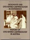 Geschichte der Oto-Rhino-Laryngologie...