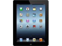 Apple iPad 3 24,6 cm (9,7 Zoll) Tablet-PC (Apple A5X, 1,2GHz, 1GB RAM, 16GB HDD, WiFi, Apple iOS 5.1) schwarz