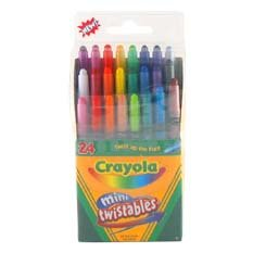 24 ct. Mini Twistables Crayons - Buy 24 ct. Mini Twistables Crayons - Purchase 24 ct. Mini Twistables Crayons (Binney & Smith-Crayola, Toys & Games,Categories,Arts & Crafts,Crayons)