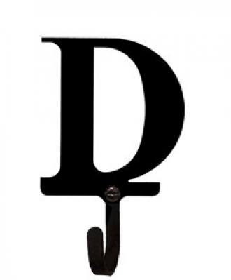 Letter D Wall Hook Sm front-62497