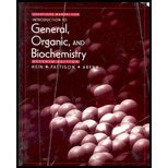 Student Solutions Manual for Introduction to General, Organic, and Biochemistry (0470001410) by Hein, Morris