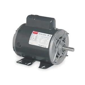 Dayton 6K148 Motor, Cap-Start, 1 HP, 1725, 115/208-230 V: Electronic