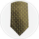 Muted Green with a Lime Green Paisley Tie.