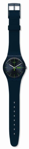 Swatch Blue Rebel Mens Watch SUON700