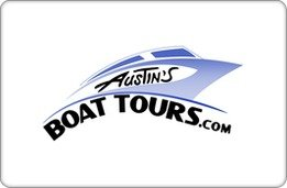 Austin'S Boat Tours Gift Card ($100) front-944267