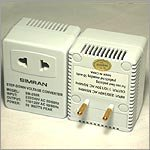 Simran SM-250R Step Down Voltage Converter 50 Watts for Foreign Travel with Fuse Protection