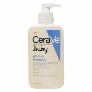 CeraVe Baby Wash & Shampoo 8 oz - 1