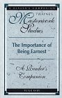 img - for The Importance of Being Ernest: A Reader's Companion (Twayne's Masterwork Studies) book / textbook / text book