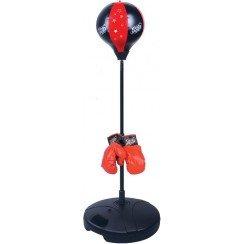 punching ball sur pied avec gants de boxe kings sport. Black Bedroom Furniture Sets. Home Design Ideas