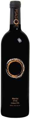 2009 Psagot Winery Merlot Kosher For Passover Not Mevushal Judean Hills 750Ml