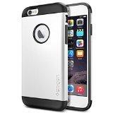 iPhone 6 ケース Spigen Apple iPhone 4.7 (2014) スリム アーマー (国内正規品) (シマリー・ホワイト SGP10957)