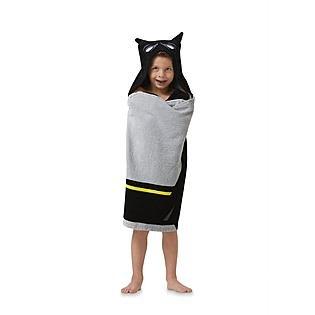 Batman Logo Hooded Beach Towel Wrap