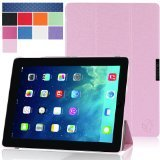 i-Blason Apple iPad Air Case (5th Generation) i-Folio Smart Cover Slim Hard Shell Stand Case Cover [Life Time Warranty] - Pink