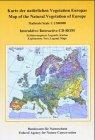 Karte der nat�rlichen Vegetation Euro...