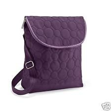Thirty One Vary You Backpack Purse 4196 Plum Quilted Dots (Quilted Backpack Purse compare prices)